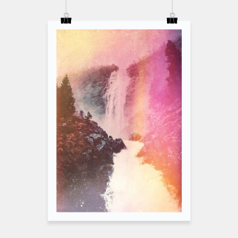 Miniatur Waterfall of Inspiration Poster, Live Heroes