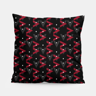 Thumbnail image of Intricate Polygons Pattern Pillow, Live Heroes