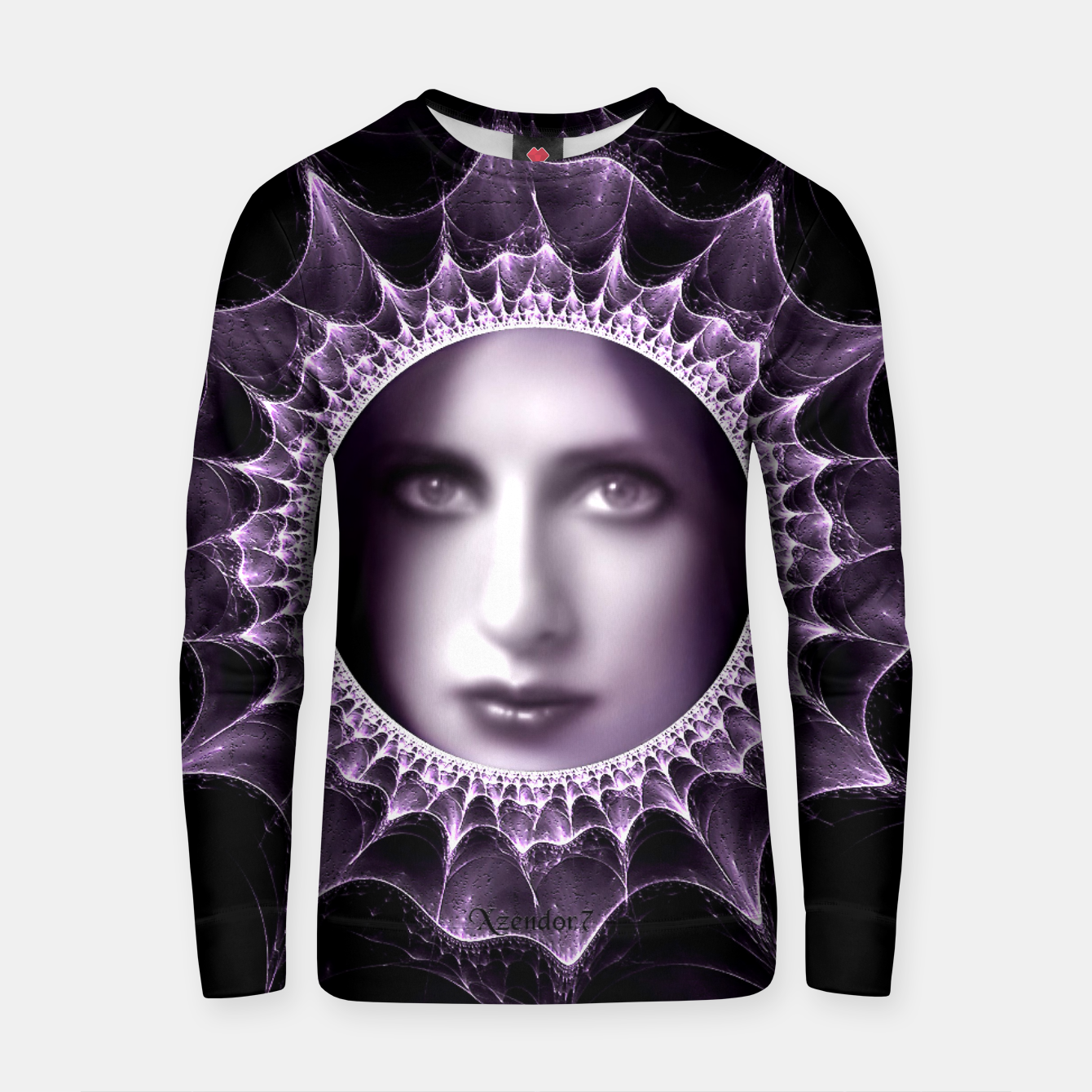 Image of Girl Behind The Magic Mirror Cotton sweater - Live Heroes