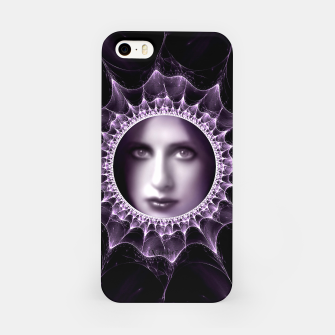 Girl Behind The Magic Mirror iPhone Case thumbnail image