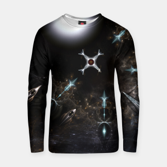 Thumbnail image of The Gateway Sci-Fi Fractal Art Cotton sweater, Live Heroes