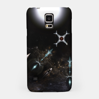 Thumbnail image of The Gateway Sci-Fi Fractal Art Samsung Case, Live Heroes