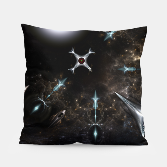 Miniaturka The Gateway Sci-Fi Fractal Art Pillow, Live Heroes