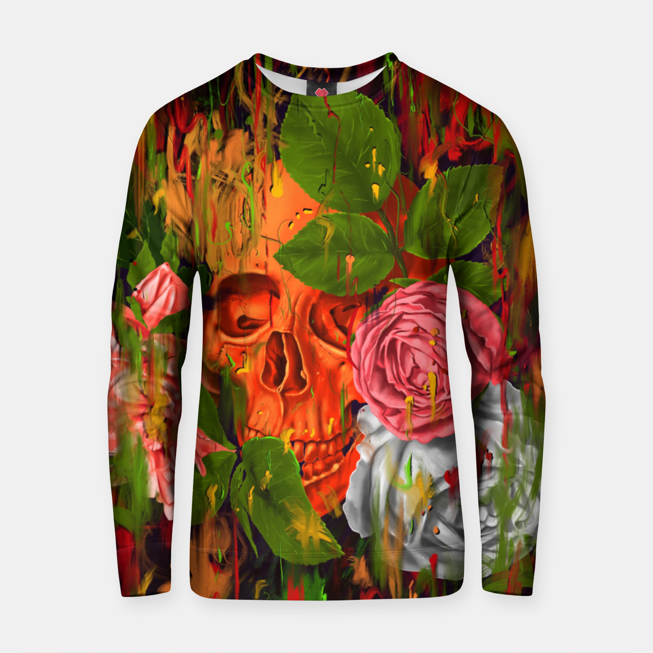 Image of Colors of Death Cotton sweater - Live Heroes