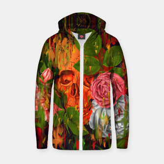 Thumbnail image of Colors of Death Cotton zip up hoodie, Live Heroes