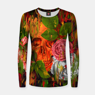Thumbnail image of Colors of Death Woman cotton sweater, Live Heroes