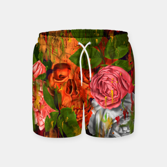 Thumbnail image of Colors of Death Swim Shorts, Live Heroes