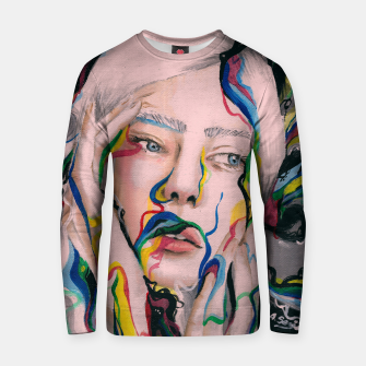 Thumbnail image of Blow my mind Cotton sweater, Live Heroes