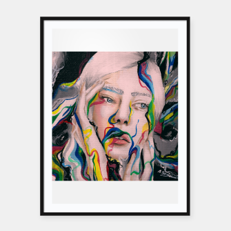 Thumbnail image of Blow my mind Framed poster, Live Heroes