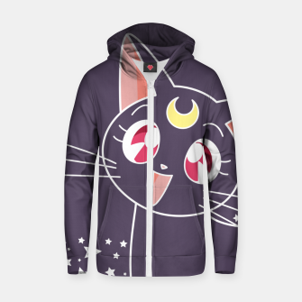 Luna Cotton zip up hoodie thumbnail image