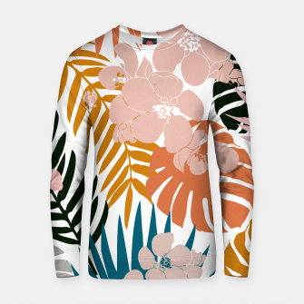 Thumbnail image of Palms and Bloom Cotton sweater, Live Heroes