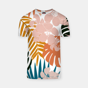 Thumbnail image of Palms and Bloom T-shirt, Live Heroes