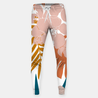 Thumbnail image of Palms and Bloom Cotton sweatpants, Live Heroes