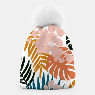 Thumbnail image of Palms and Bloom Beanie, Live Heroes