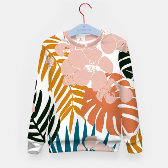 Thumbnail image of Palms and Bloom Kid's sweater, Live Heroes