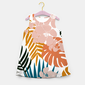 Thumbnail image of Palms and Bloom Girl's summer dress, Live Heroes