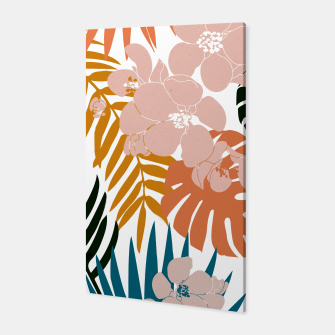 Thumbnail image of Palms and Bloom Canvas, Live Heroes