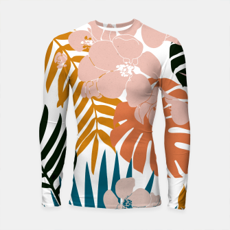 Thumbnail image of Palms and Bloom Longsleeve rashguard , Live Heroes