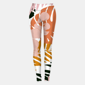 Thumbnail image of Palms and Bloom Leggings, Live Heroes