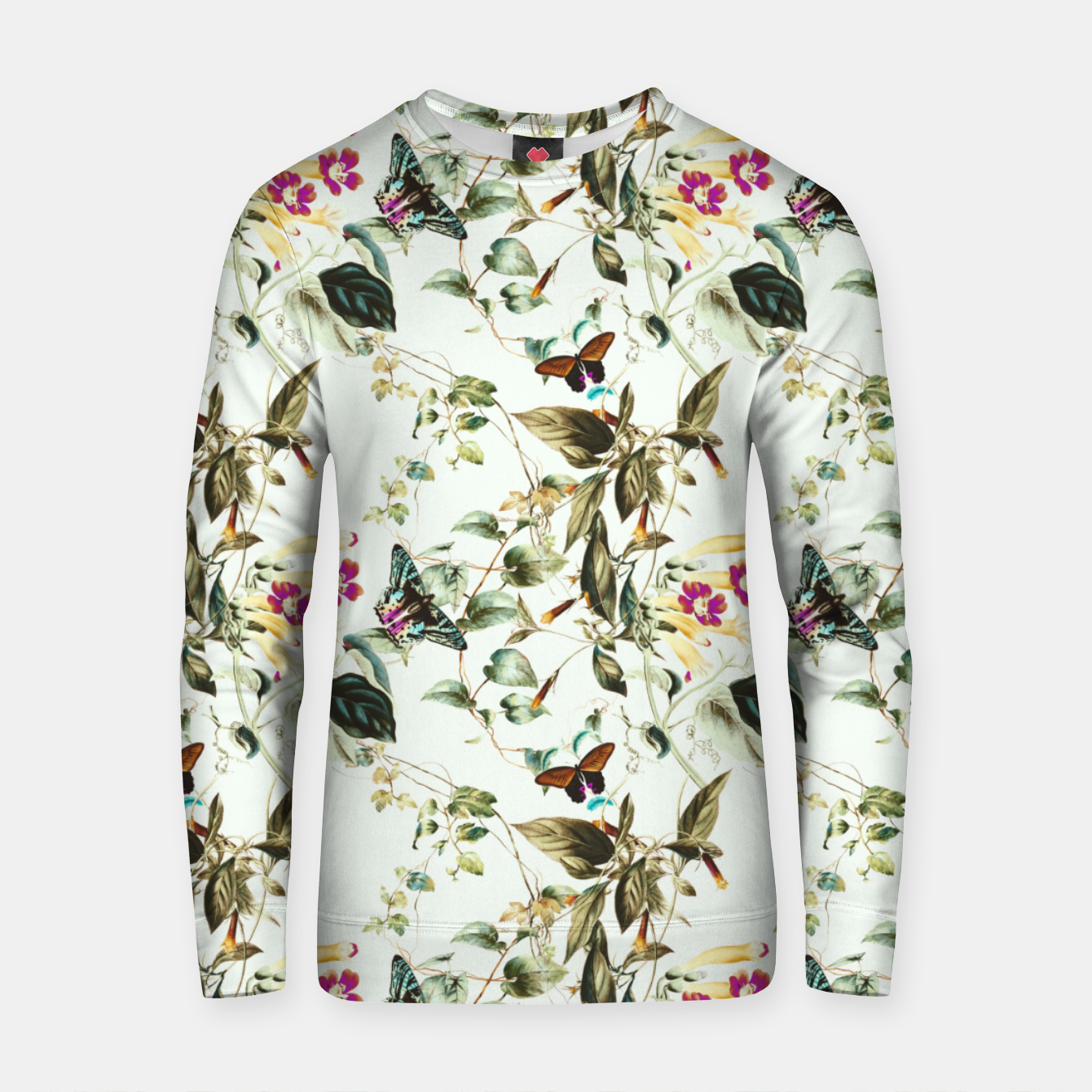 Image of Butterflies on the meadow Sudadera de algodón - Live Heroes