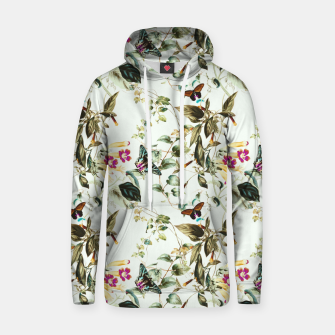 Miniatur Butterflies on the meadow Sudadera con capucha de algodón, Live Heroes