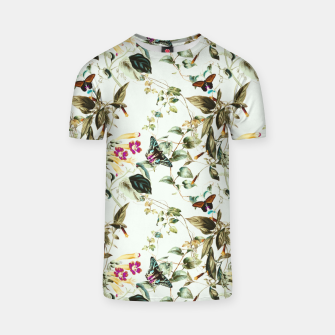 Miniatur Butterflies on the meadow Camiseta, Live Heroes