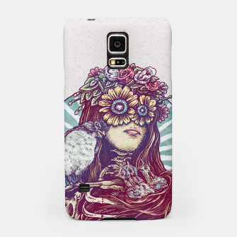 Thumbnail image of Birds Nest Hair Samsung Case, Live Heroes