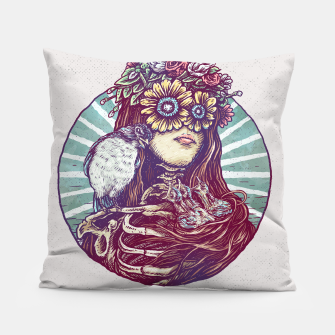 Thumbnail image of Birds Nest Hair Pillow, Live Heroes