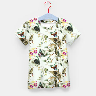Butterflies on the meadow Camiseta para niños thumbnail image
