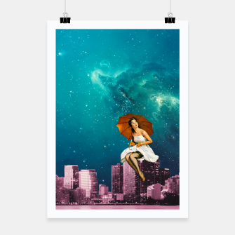 Thumbnail image of Vintage City Poster, Live Heroes