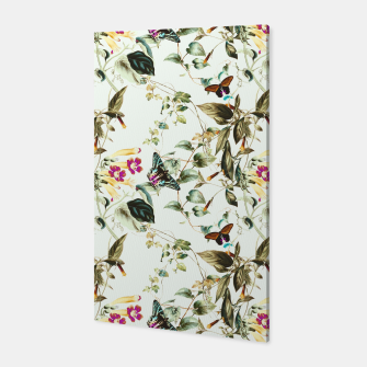 Butterflies on the meadow Canvas thumbnail image
