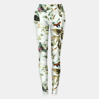 Miniatur Butterflies on the meadow Leggings, Live Heroes
