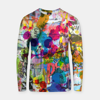 Thumbnail image of Street Art Attack Cotton sweater, Live Heroes