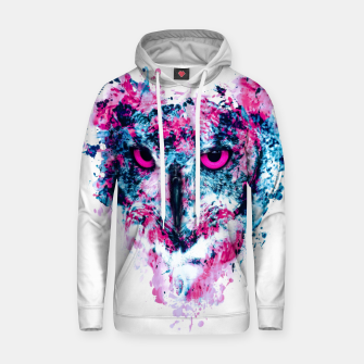 Thumbnail image of Owl IV Cotton hoodie, Live Heroes