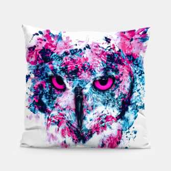 Thumbnail image of Owl IV Pillow, Live Heroes
