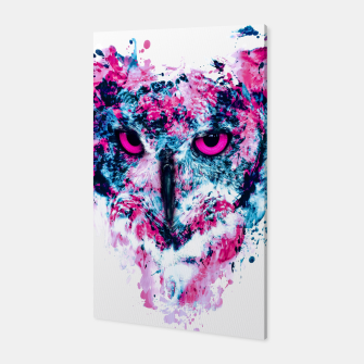 Thumbnail image of Owl IV Canvas, Live Heroes