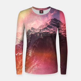 Thumbnail image of Keep Climbing Woman cotton sweater, Live Heroes