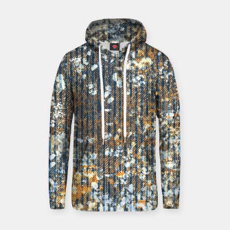 Thumbnail image of rust Cotton hoodie, Live Heroes