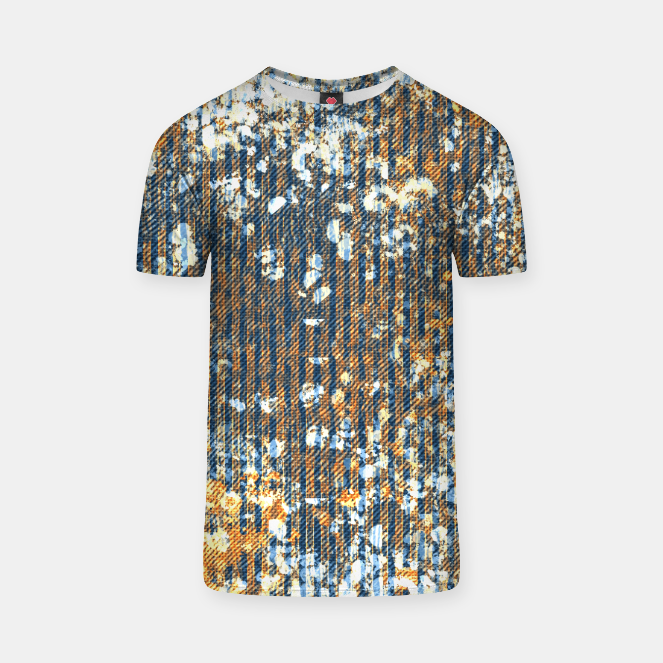 Image of rust T-shirt - Live Heroes