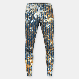 Thumbnail image of rust Cotton sweatpants, Live Heroes