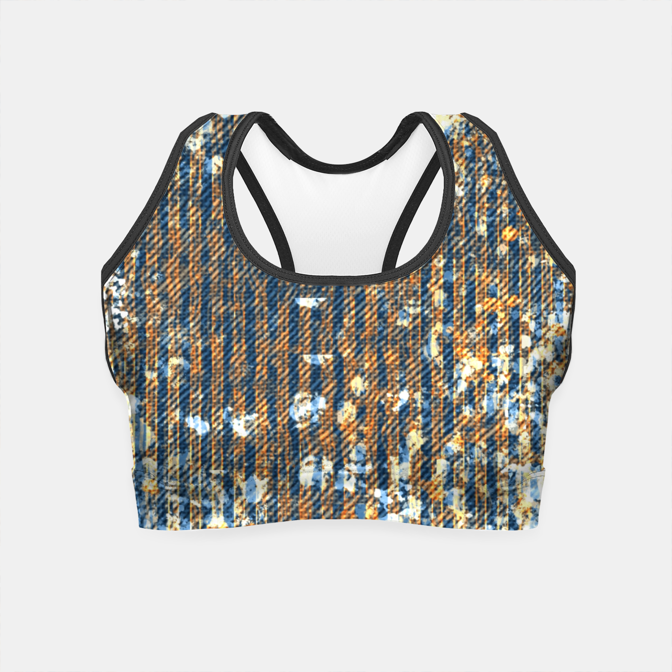 Image of rust Crop Top - Live Heroes