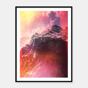 Thumbnail image of Keep Climbing Framed poster, Live Heroes
