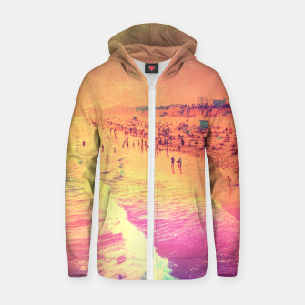 Thumbnail image of Summer Flame Cotton zip up hoodie, Live Heroes