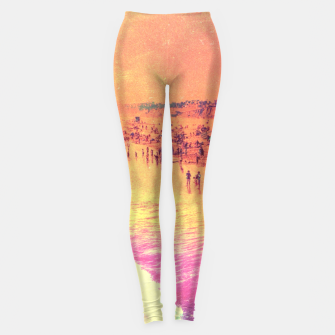 Summer Flame Leggings Bild der Miniatur