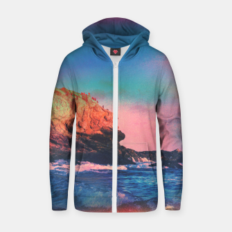 Thumbnail image of My Habitat Cotton zip up hoodie, Live Heroes