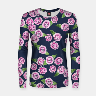 Thumbnail image of Peony Woman cotton sweater, Live Heroes