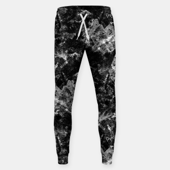 The dark rocks Cotton sweatpants Bild der Miniatur