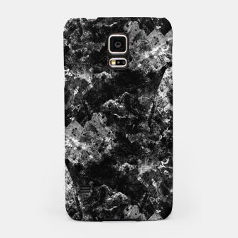 The dark rocks Samsung Case Bild der Miniatur