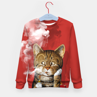 Thumbnail image of Smoking Cat Kid's sweater, Live Heroes