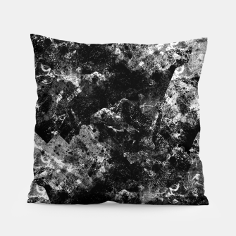 The dark rocks Pillow Bild der Miniatur